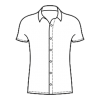 Long and short sleeved shirts for adults