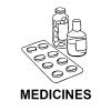 Medicines, particularly antibiotics