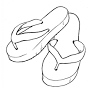 Shower Shoes for Moria Camp