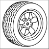 Replacement Tyres for the Starfish delivery van